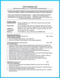 Technical Skills On Cv Unix Resume Resume For Your Job Application