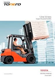 toyota tonero toyota material handling pdf catalogue