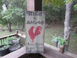 primitive country decor primitive rooster sign rooster wall