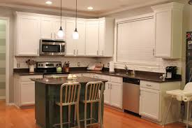 Oak Kitchen Cabinets Refinishing Inspiring Grey Kitchen Wall Colors Combine With White Painted