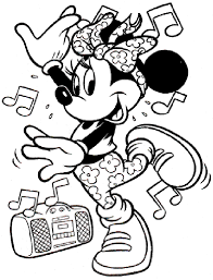 mouse colouring funycoloring