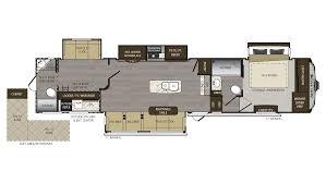 Fifth Wheel Bunkhouse Floor Plans 2018 Keystone Avalanche 395bh Model