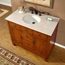 Bathroom Vanity 42 by Shop Silkroad Exclusive Frances Cherry Undermount Single Sink