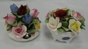 vintage aynsley england royal doulton fine bone china flowers