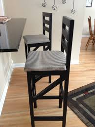 34 Inch Bar Stool Furniture Extra Tall Bar Stool Which Decorated With Black And