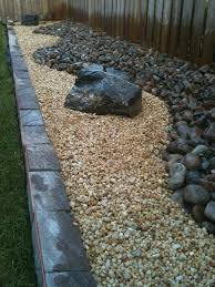 The  Best Images About Pebbles Large Loose On Pinterest - Backyard river design