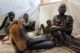 When refugees scatter  here     s how family members can find each     Refugees from Jonglei State in South Sudan wait at a registration center in Kakuma refugee camp