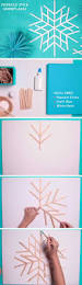 Diy Christmas Home Decor Giant Popsicle Stick Snowflakes Diy Christmas Decorations For