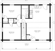 Small House Building Plans Tiny House Single Floor Plans 2 Bedrooms Small Kit Homes One