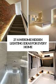 Mood Lighting Bathroom by 27 Awesome Hidden Lighting Ideas For Every Home Digsdigs