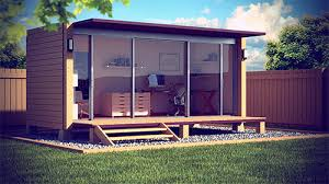 Backyard Office Prefab by Shipping Container Garden Office Designed By Shane Peterson Very