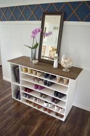 Space Saving Closet Ideas With A Dressing Table Best 20 Shoe Racks Ideas On Pinterest Diy Shoe Storage Slim