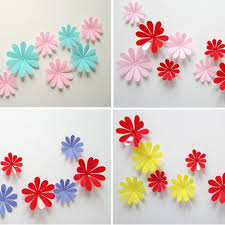 Home Decor Wholesalers Usa by Best Birthday Gift Diy 3d Flowers Wall Sticker Wholesale Diy Home