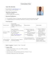 Mechanical Engineering Cv Examples Engineering CV Example CV     Engineering CV template