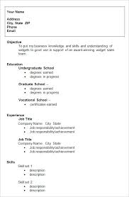 Skill Set Resume Examples by College Resumes Examples Of Resume For College Students Simple