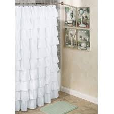 Bed Bath And Beyond Shower Curtain Liner Ruffle Shower Curtain Bed Bath And Beyond Curtains Decoration
