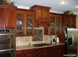 Kitchen Design Inspiring Stained Glass Kitchen Cabinet Doors For - Kitchen cabinet with glass doors
