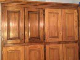 Kitchen Cabinets Mahogany Golden Oak Cabinets Enhanced With Mahogany Gel Stain Gel Stain