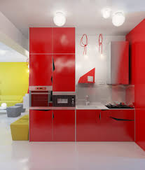 Red And Black Kitchen Ideas Red And Black Kitchen Design Ideas Contemporary Red Kitchen