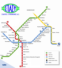 Metro Lines Map by Public Transportation Maps Of Athens Travel Guide Welcome