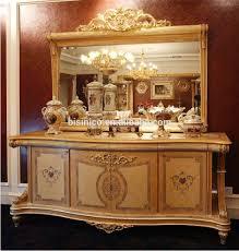 bisini italian style elegant baroque marquetry dining room