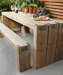 Build Wood Garden Bench by Charming Diy Wood Outdoor Furniture Diy Outdoor Garden Furniture 3