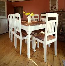 distressed dining room chairs cream chairs vintage dining room