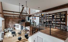 Loft Shelving by Jersey Digs Exclusive Wells Fargo Loft With 45 U0027 Ceilings Nyc