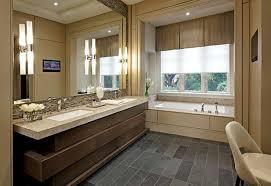 black glass ceramic mosaic backsplash small apartment bathroom