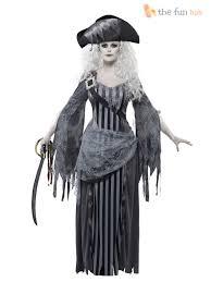 ladies madame voyage zombie ghost pirate halloween womens fancy