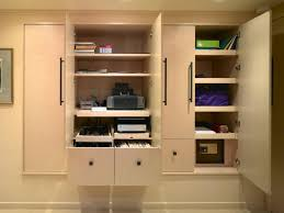 After Custom Home Office Furniture Installed Custom Home Office - Home office cabinet design ideas