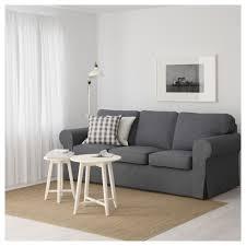 Ikea Sofa Ektorp Three Seat Sofa Nordvalla Dark Grey Ikea