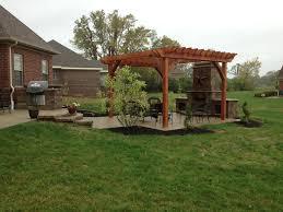 Backyard Cement Patio Ideas by Backyard Concrete Patio Ideas Dayton And Cincinnati Ohio