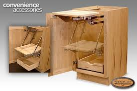 Cabinets Showplace Convenience Accessories - Kitchen cabinet accesories