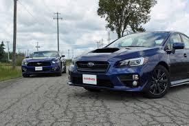 Is The Subaru Brz Awd 2015 Ford Mustang Ecoboost Vs Subaru Wrx Autoguide Com News