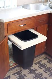 Building Kitchen Cabinet Boxes Best 25 Trash Can Cabinet Ideas On Pinterest Cabinet Trash Can
