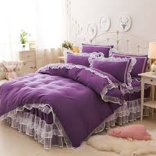 Purple Bed Sets by Compare Prices On Solid Purple Comforter Online Shopping Buy Low