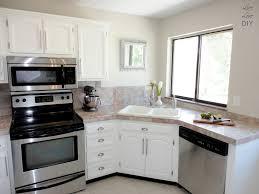 corner sink kitchen with attractive layout to tweak your kitchen