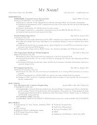 Sample Resume For Mechanical Design Engineer by Circuit Design Engineer Sample Resume 20 Mechanical Engineering