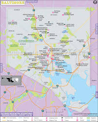 Time Zone Map Usa With Cities by Baltimore Map Map Of Baltimore City Maryland