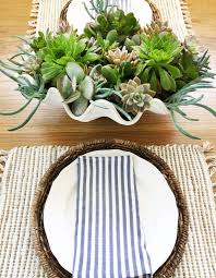 Diy Succulents Diy Faux Clamshell With Succulents Design Intervention Diary