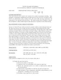 Physical Therapy Resume Sample by Therapist Resume Examples Free Resume Example And Writing Download