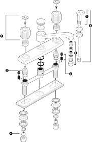 Replacing Kitchen Faucet Moen Bathroom Sink Faucet Repair Diagram Faucet Ideas