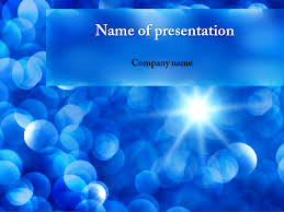 Free Ppt Business Templates Free Blue Snowflakes Powerpoint Template Background For