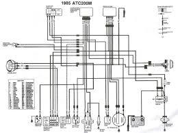 1985 honda fourtrax wiring diagram 1986 honda fourtrax 250