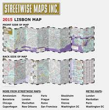 Sf Metro Map by Streetwise Lisbon Map Laminated City Center Street Map Of Lisbon