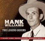 RELEASE OF HANK WILLIAMS: