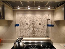 Backsplash Kitchen Photos Hand Painted Tile Backsplash Kitchen Cabinet Hardware Room
