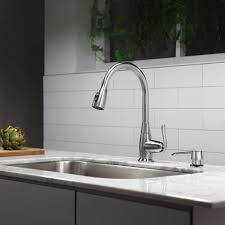 Kitchen Sink With Faucet Set Kitchen Kraus Faucet For A Streamlined Look And Easy Installation