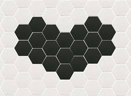 extro tiles hexagons pattern patterns pinterest bath